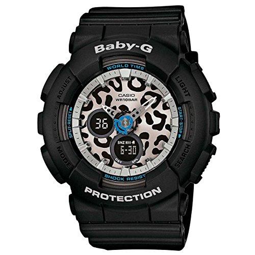 Casio Baby-G Animal Print Graphic Dial Resin Quartz Ladies Watch BA120LP-1A