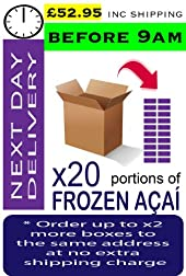 AÇAÍ Frozen - Especial Grade x 20 Portions (Next Day - Before 9am)
