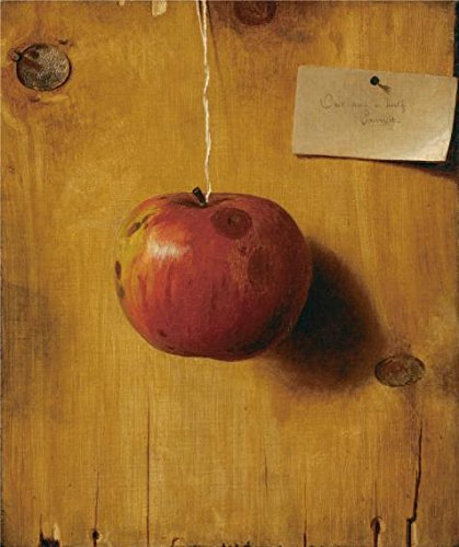 'De Scott Evans,Still Life with Apple,ca.1890' oil painting, 8x10 inch / 20x24 cm ,printed on high quality polyster Canvas ,this Cheap but High quality Art Decorative Art Decorative Canvas Prints is perfectly suitalbe for Wall art gallery art and Home artwork and Gifts (Ca Ged compare prices)