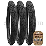 3 x BABY JOGGER FREEDOM Suitable Stroller / Push Chair / Buggy Tyres to fit - 16