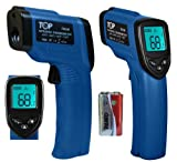 UPGRADED TopG® Temperature Gun Non-contact Infrared Thermometer w/ Laser Sight U.S. FDA/FCC/CE/ROHS Approved