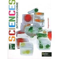Svt Physique-Chimie 1re L, ES : Programme 2011