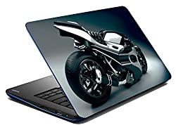 meSleep Hyper Bike Laptop Skin