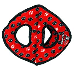 Tuffy Ultimate 3WayRing Red Paw