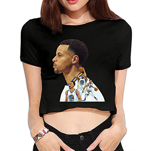 xj-cool-womens-basketball-magician-tops-midriff-baring-shirts-black-m