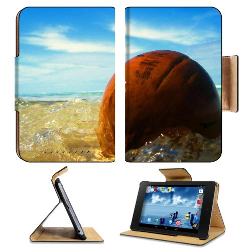 Ocean Waves Washing Over Stone Google Nexus 7 Flip Case Stand Magnetic Cover Open Ports Customized Made To Order Support Ready Premium Deluxe Pu Leather 7 7/8 Inch (200Mm) X 5 Inch (127Mm) X 11/16 Inch (17Mm) Msd Nexus 7 Professional Nexus7 Cases Nexus_7