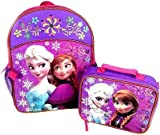 アナと雪の女王 ランチバッグ付バックパック(リュックサック)9670【FROZEN エルサ キャラクター バッグ 子供用 グッズ】