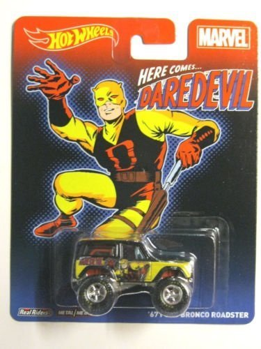 Hot Wheels Marvel Daredevil '67 Ford Bronco Roadster