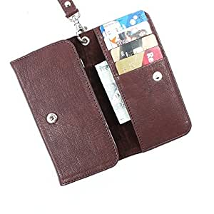 DooDa PU Leather Case Cover For Karbonn A21