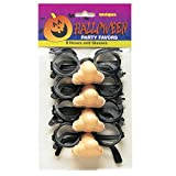 Unique Halloween Groucho Marx Glasses (8 Count)