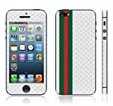 Iphone 5 White Vinyl Skin Kit Fits 5th Generation Apple Iphone Decal Cover Sticker