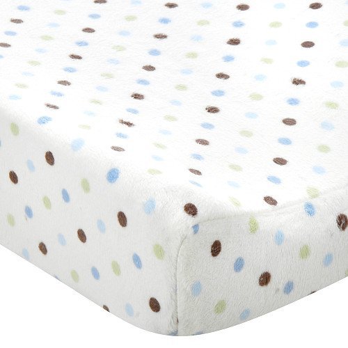 Carters Changing Pad Cover Multi Dot - 1
