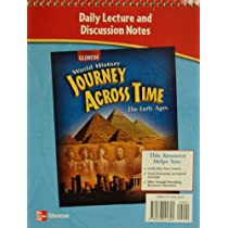 """Daily Lecture and Discussion Notes for Glencoe """"World History: Journey Across Time: The Early Ages"""""""
