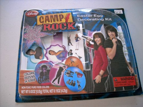 JONAS Disney Camp Rock Easter Egg Decorating Kit
