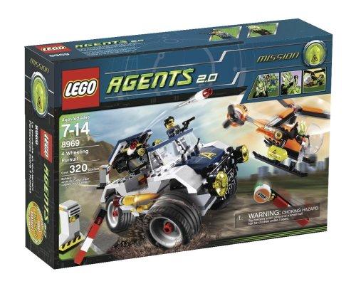 LEGO Agents 8969  4-Wheeling Pursuit