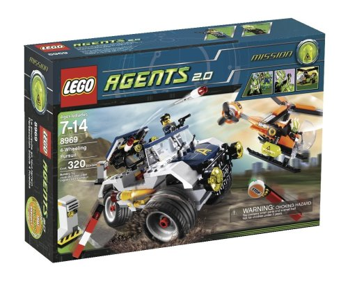 LEGO Agents 8969 - Verfolgungsjagd auf vier Rädern