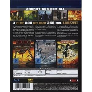 Angriff aus dem All: Krieg der Welten 2,Supernova [Blu-ray] [Import allemand]