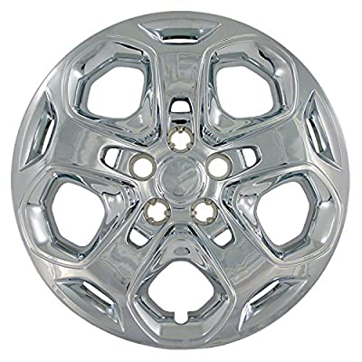 2010-2012 Ford Fusion 17 inch Chrome Bolt On Hubcaps (Set of 4)