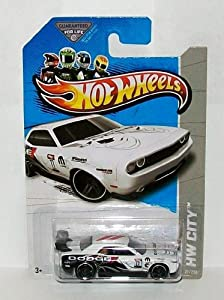 2013 Hot Wheels Hw City Treasure Hunt - Dodge Challenger Drift Car