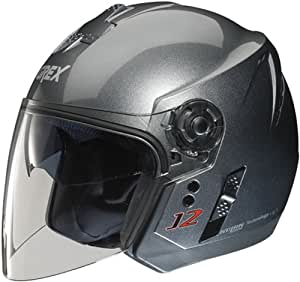 Grex J2 Kinetic Motorbike Helmet XS Grey