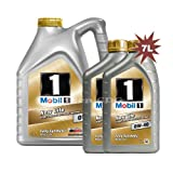 Mobil 1 0W-40 New Life Fully Synthetic Engine Oil 149015 1x5L+2x1L = 7L