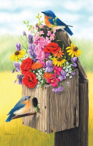 MINI - Bouquet for Bluebirds