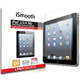 iSmooth Apple iPad 4 with Retina Display Ultra Clear Premium HD Screen Protector 2 Pack (fits Apple iPad 2, iPad 3 and iPad 4)