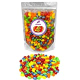 Jelly Belly 5-Flavor Sours Jelly Beans 1lb (1 pound ) in resealable stand-up bag