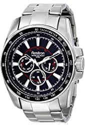 Armitron Men's 20/4959BKSV Stainless Steel Watch