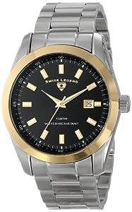 Swiss Legend Men's 21397-11-GB Classic Analog Display Swiss Quartz Silver Watch