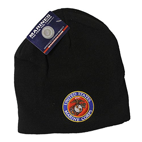 United states marine corps black knit beanie with semper fi for Semper fi fund rating