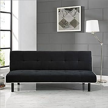 Serta Dream Convertibles Xoom Sofa in Black