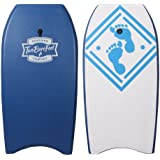 "42"" (106cm) Slick Board Bodyboard XPE + EVA Core Includes Wrist/Ankle Strap by Two Bare Feet"
