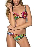 Esotiq Sujetador de Bikini Race (Multicolor)