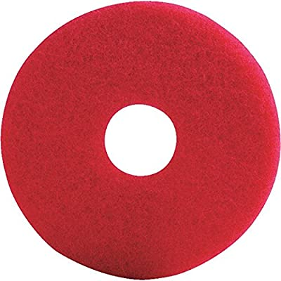 Lundmark Wax TKL20R Red Buffer Pad 20In - 2 pack