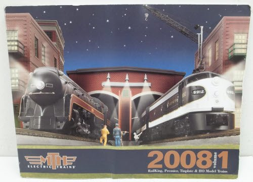 MTH 2008 Volume 1 Railking, Premier, Tinplate & HO Model Trains