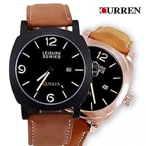Amazon.com : LNTGO Curren Relojes De Marca Men'S Sport Watches Date