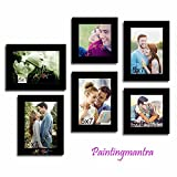 Enchanting Moments Gallery Wall- Set of 6 Individual wall Photo Frames
