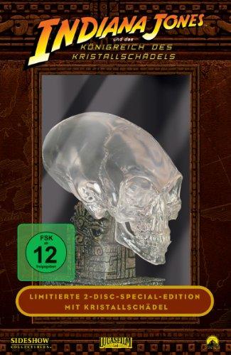 Indiana Jones und das Königreich des Kristallschädels (Limitierte Edition mit Kristallschädel) [2 DVDs]