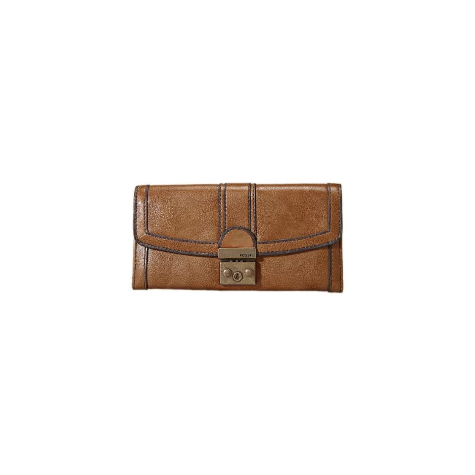 505c4102b1dc7 Fossil Womens Vintage Re issue Leather Flap Clutch SL2946235 on ...