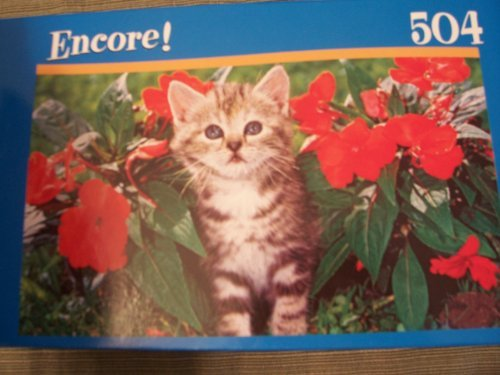 Encore 504 Piece Puzzle ~ Kitten with Stripes