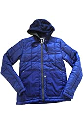 Men's G-Star Raw Stone Jet HDD Aspen Nylon Jacket in Ballpen Blue