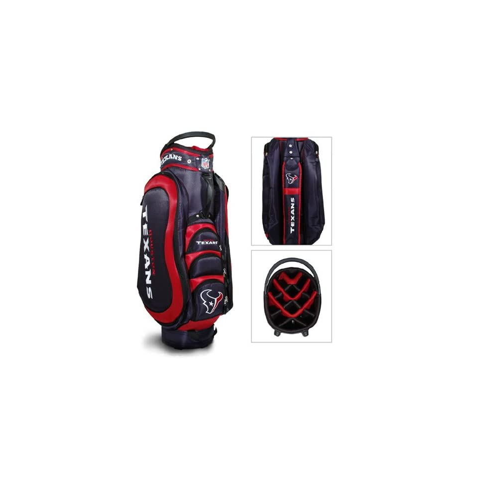 BSS   Houston Texans NFL Cart Bag   14 way Medalist