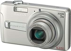 Fujifilm Finepix J50 8.2MP Digital Camera with 5x Optical Zoom (Brushed Silver)