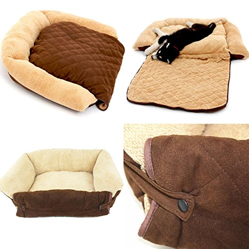 Dog/cat Bed Soft Warm Chauffer Varm Pet Beds Cushion Puppy Chauffer Sofa Couch Varm Mat Kennel Pad Furniture No.196 (L)