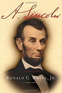 "Cover of ""A. Lincoln: A Biography"""