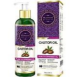 Morpheme Pure Castor Oil (ColdPressed) For Hair, Body, Skin Care, Eyelashes 200 Ml
