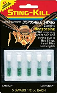 Sting-Kill Disposable Swabs - 5 Ea