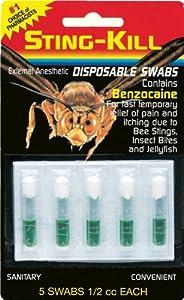 Sting-Kill Disposable Swabs - 5 Ea