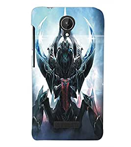 PRINTSWAG DEVIL Designer Back Cover Case for MICROMAX CANVAS SPARK Q380